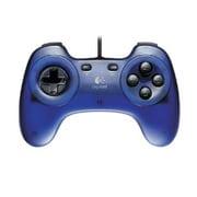 GPX-200BL [USB接続 10ボタン PCゲームコントローラ ブルー]