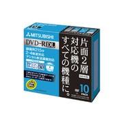 VHR21YDSP10 [録画用DVD-R DL 215分/8.5GB 片面2層 2-4倍速対応 CPRM対応 インクジェットプリンタ対応 10枚]