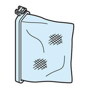 NET-K8PAM2 [糸くずフィルター 洗濯乾燥機・全自動洗濯機用 下部糸くずフィルター(2個入)]