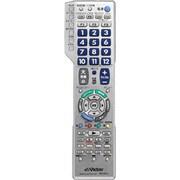 RM-A815-S [地上デジタル対応テレビ/チューナー・ビデオ・DVD・BD用 リモートコントローラー シルバー]