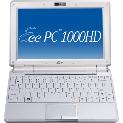 EEEPC1000H-WHI078X [EeePC1000H-X(パールホワイト)]