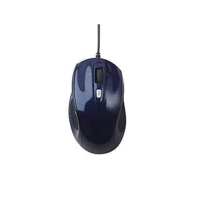 SLATS01BL [USB接続 レーザー式5ボタン1チルトホイールマウス ONYX Sサイズ ホークスアイブルー]