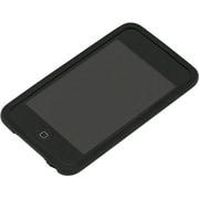 PTX-12 [iPod touch用 シリコーンジャケットセット ブラック]