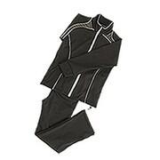 シェイプスーツ キューブ [30'UP DIET 男性用(3Lサイズ・ブラック×グレー)]