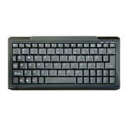 OWL-KB77SM(B)/E [USB&PS/2接続 シンプル&コンパクト 77キー英語キーボード ブラック/ブラック]