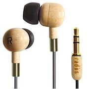 HP-WCF11M [Wood Art Headphones in-ear type]