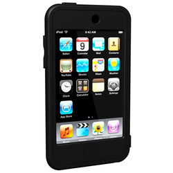 SUMLT2G-BK [2nd iPod touch用 シリコンケース ブラック Loop Silicon Case for iPod touch 2G]