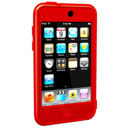 SUMLT2G-RD [iPod touch用 シリコンケース レッド Loop Silicon Case for iPod touch 2G]