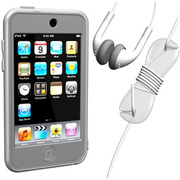 SUMLT2G-SKT-CL [iPod touch用 スターターキットセット クリア Loop Silicon Case for iPod touch 2G Starter Kit]