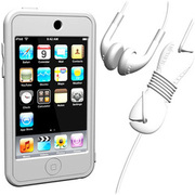 SUMLT2G-SKT-WT [iPod touch用 スターターキットセット ホワイト Loop Silicon Case for iPod touch 2G Starter Kit]