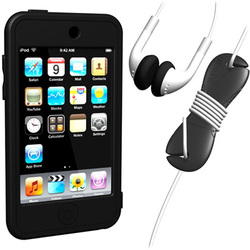 SUMLT2G-SKT-BK [iPod touch用 スターターキットセット ブラック Loop Silicon Case for iPod touch 2G Starter Kit]