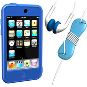 SUMLT2G-SKT-BL [iPod touch用 スターターキットセット ブルー Loop Silicon Case for iPod touch 2G Starter Kit]