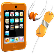 SUMLT2G-SKT-OR [iPod touch用 スターターキットセット オレンジ Loop Silicon Case for iPod touch 2G Starter Kit]