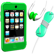 SUMLT2G-SKT-GR [iPod touch用 スターターキットセット グリーン Loop Silicon Case for iPod touch 2G Starter Kit]