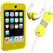 SUMLT2G-SKT-YE [iPod touch用 スターターキットセット イエロー Loop Silicon Case for iPod touch 2G Starter Kit]