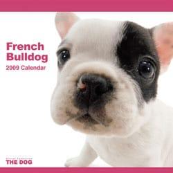 2009 カレンダー THE DOG フレンチ・ブルドッグ