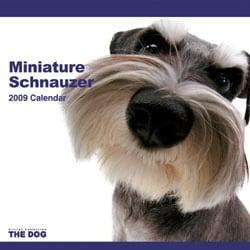 2009 カレンダー THE DOG ミニチュア・シュナウザー