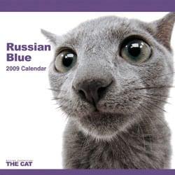 2009 カレンダー THE CAT ロシアン・ブルー