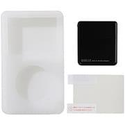 UAMASF02BK [iPod classic 120GB/80GB用 ジャケット+アダプタ+液晶保護フィルム 3点セット ブラック]