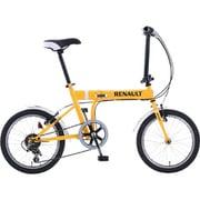 FDB186 [折りたたみ自転車(18型) オレンジ]