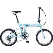 FDB186 [折りたたみ自転車(18型) ミントブルー]