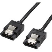 SATR-3103BK [SATAケーブル SATA3対応 ラッチ付き 30cm]