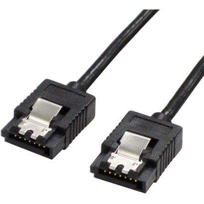 SATR-3105BK [SATAケーブル SATA3対応 ラッチ付き 50cm]