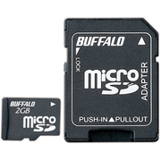 RMSD-BS02GSA [microSDカード 2GB SD変換アダプター付 防水仕様]