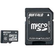 RMSD-BS04GSA [microSDHCカード CLASS4 4GB アダプター付 防水]