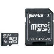 RMSD-BS08GSA [microSDHCカード CLASS4 8GB アダプター付 防水]