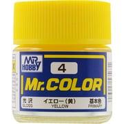 Mr.カラーC-4 [溶剤系アクリル樹脂塗料 イエロー 光沢]
