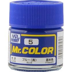 Mr.カラーC-5 [溶剤系アクリル樹脂塗料 ブルー 光沢]