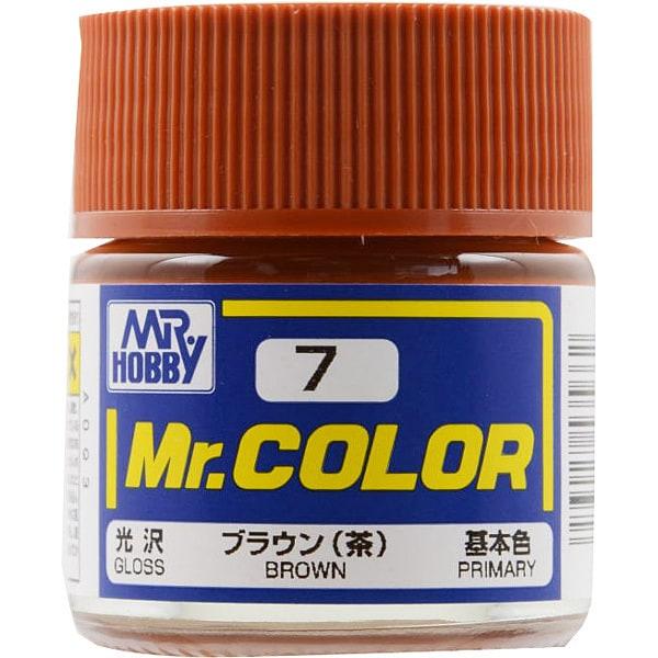Mr.カラーC-7 [溶剤系アクリル樹脂塗料 ブラウン 光沢]