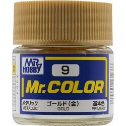 Mr.カラーC-9 [溶剤系アクリル樹脂塗料 ゴールド メタリック]