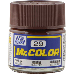 Mr.カラーC-29 [溶剤系アクリル樹脂塗料 艦底色 半光沢]