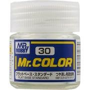 Mr.カラーC-30 [溶剤系アクリル樹脂塗料 フラットベース つや消し添加剤]