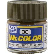 Mr.カラーC-38 [溶剤系アクリル樹脂塗料 オリーブドラブ(2) つや消し]