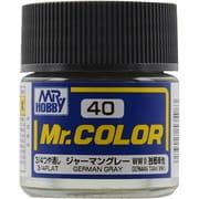 Mr.カラーC-40 [溶剤系アクリル樹脂塗料 ジャーマングレー 3/4つや消し]