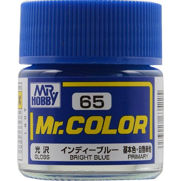 Mr.カラーC-65 [溶剤系アクリル樹脂塗料 インディーブルー 光沢]