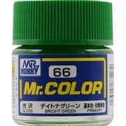 Mr.カラーC-66 [溶剤系アクリル樹脂塗料 デイトナグリーン 光沢]