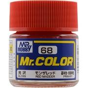 Mr.カラーC-68 [溶剤系アクリル樹脂塗料 モンザレッド 光沢]