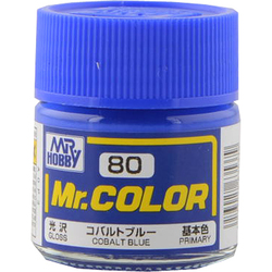Mr.カラーC-80 [溶剤系アクリル樹脂塗料 コバルトブルー 光沢]