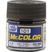 Mr.カラーC-101 [溶剤系アクリル樹脂塗料 スモークグレー 光沢]