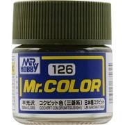 Mr.カラーC-126 [溶剤系アクリル樹脂塗料 コクピット色 (三菱系) 半光沢]
