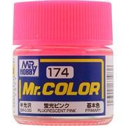 Mr.カラーC-174 [溶剤系アクリル樹脂塗料 蛍光ピンク 半光沢]