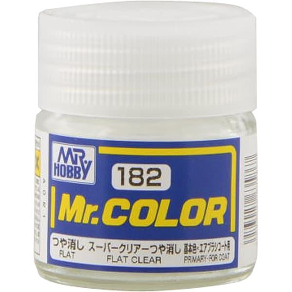 Mr.カラーC-182 [溶剤系アクリル樹脂塗料 スーパークリアーつや消し つや消し]