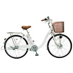 CY-SPE224-W-H [電動アシスト自転車(24型) ホワイト 電動ハイブリッド自転車 eneloop bike(エネループバイク)]