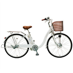 CY-SPE226-W-H [電動アシスト自転車(26型) ホワイト 電動ハイブリッド自転車 eneloop bike(エネループバイク)]