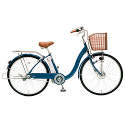 CY-SPE226-L-H [電動アシスト自転車(26型) ブルー 電動ハイブリッド自転車 eneloop bike(エネループバイク)]