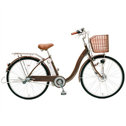 CY-SPE226-T-H [電動アシスト自転車(26型) ブラウン 電動ハイブリッド自転車 eneloop bike(エネループバイク)]